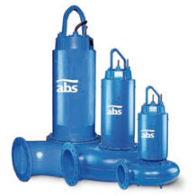 Bombas Sumergibles para Aguas Residuales Negras ABS AFP M8 M9
