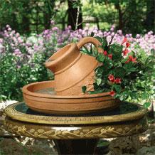 Fuentes de agua para jardines cantaro - Fuente de pared para jardin ...