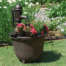 Fuentes de agua para jardines toscana for Bombas de agua para fuentes de jardin